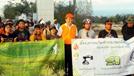 มวล.จัดโครงการปั่นจักรยานศึกษาผลกระทบการกัดเซาะชายฝั่ง