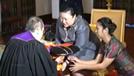 มหาวิทยาลัยวลัยลักษณ์เข้าเฝ้าถวาย ปริญญาปรัชญาดุษฎีบัณฑิตกิตติมศักดิ์ สาขาสาธารณสุขศาสตร์ และฉลองพระองค์ครุย แด่ พระเจ้าวรวงค์เธอ พระองค์เจ้าโสมสวลี พระวรราชาทินัดดามาตุ