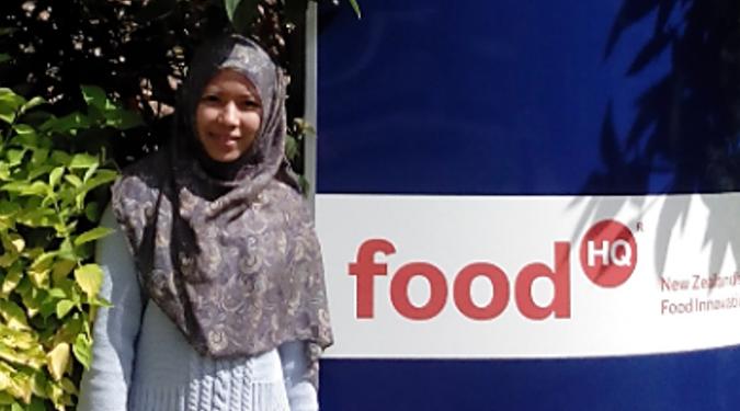 กิติยา สุเหม : นักศึกษา ป.เอก สำนักวิชาเทคโนโลยีการเกษตรกับประสบการณ์ทำวิจัยที่นิวซีแลนด์