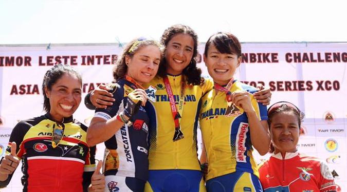 นักศึกษา ม.วลัยลักษณ์ คว้าแชมป์ จักรยานเสือภูเขา ณ ประเทศติมอร์เลสเต้