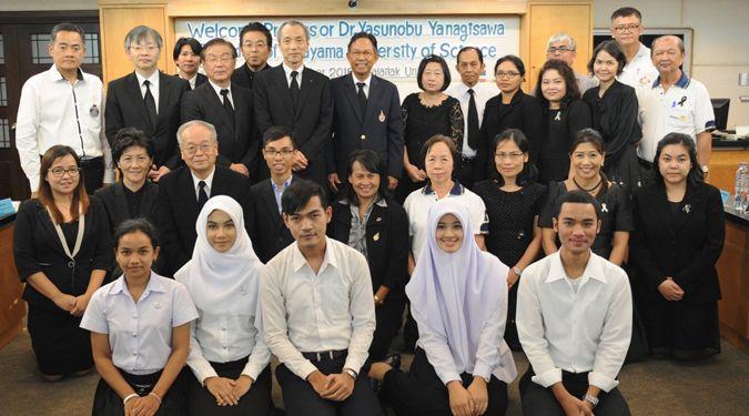ผู้บริหารจาก Okayama University ประเทศญี่ปุ่น เยือน ม.วลัยลักษณ์ กระชับความร่วมมือทางวิชาการ
