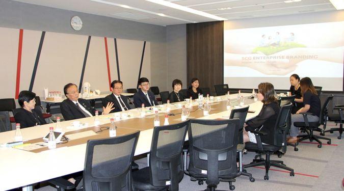 มหาวิทยาลัยวลัยลักษณ์ ศึกษาดูงานด้านสื่อสารองค์กรและกลยุทธ์การสร้างแบรนด์ บริษัท ปูนซิเมนต์ไทย จำกัด (มหาชน)
