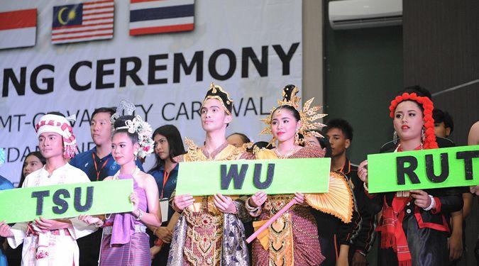 ม.วลัยลักษณ์ส่งนักศึกษาร่วมงาน IMT-GT ครั้งที่ 19 เชื่อมสัมพันธ์อาเซียน ที่อินโดนีเซีย