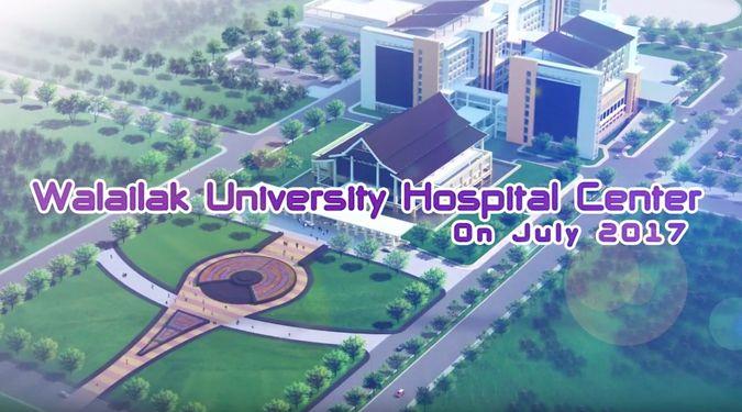 สรุปความก้าวหน้าการดำเนินงานก่อสร้างโรงพยาบาลศูนย์การแพทย์มหาวิทยาลัยวลัยลักษณ์ เดือน กรกฏาคม 2560