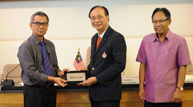 UTHM executives, Malaysia, visited Walailak University for academic collaborative discussion