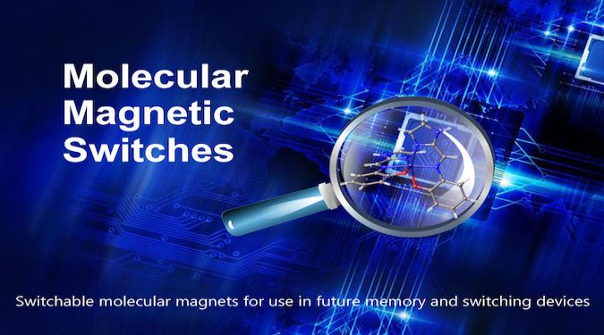 Molecular Magnetic Switches – the switchable molecular magnets for use in future memory