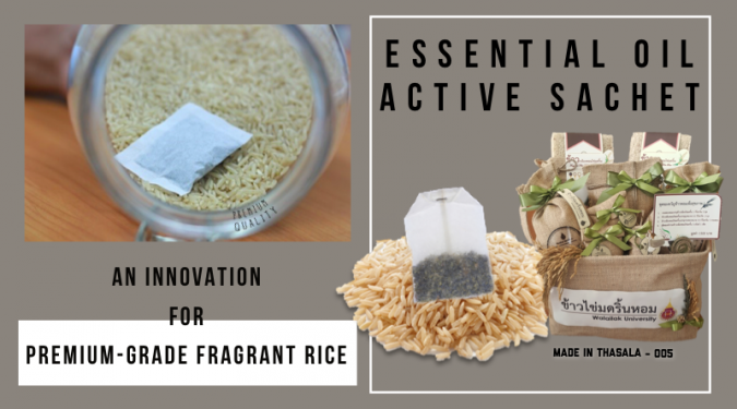 Essential Oil Active Sachet – An innovation for premium-grade fragrant rice