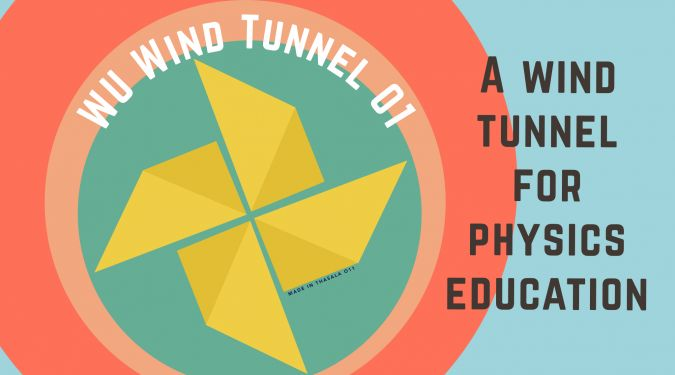 WU Wind Tunnel 01 – a Wind Tunnel for Physics Education