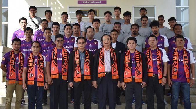 สโมสรฟุตบอล นกฮูกมหากาฬ เมืองคอน ดับบลิวยู เอฟซี เลื่อนชั้นสู่ไทยลีก 4