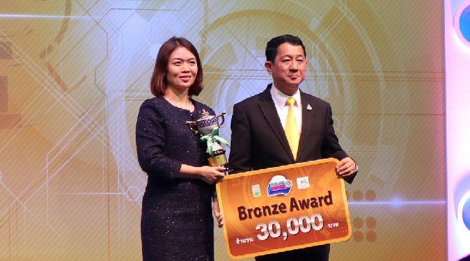 ศูนย์ความเป็นเลิศด้านการวิเคราะห์โลจิสติกส์และธุรกิจ คว้ารางวัล Bronze Award ในงานมหกรรมวิจัยแห่งชาติ Thailand Research Expo 2019