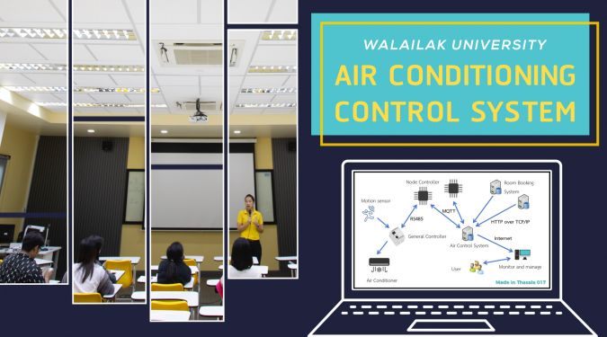 Walailak University – Air conditioning control system