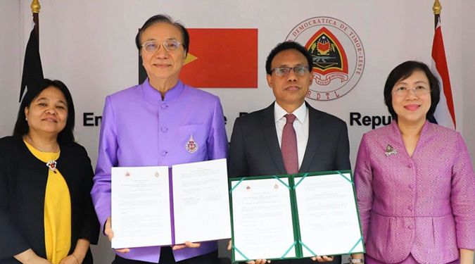 MOU for academic cooperation with the Ministry of Higher Education, Science and Culture of The Democratic Republic of Timor-Leste (RDTL)