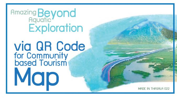 Amazing Beyond Aquatic Exploration via QR Code for Community based Tourism Map