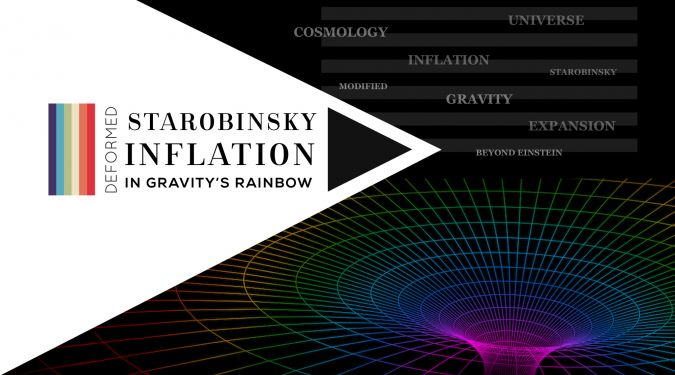 Deformed Starobinky inflation in Gravity's Rainbow -- Cosmic Inflation in Gravity's Rainbow space-time