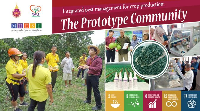 Integrated pest management for crop production: The Prototype Community