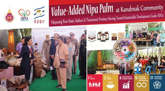 Value-Added Nipa Palm at Kanabnak Community, Pakpanang River Basin, Nakhon Si Thammarat Province Moving Toward Sustainable Development Goals–SDGs