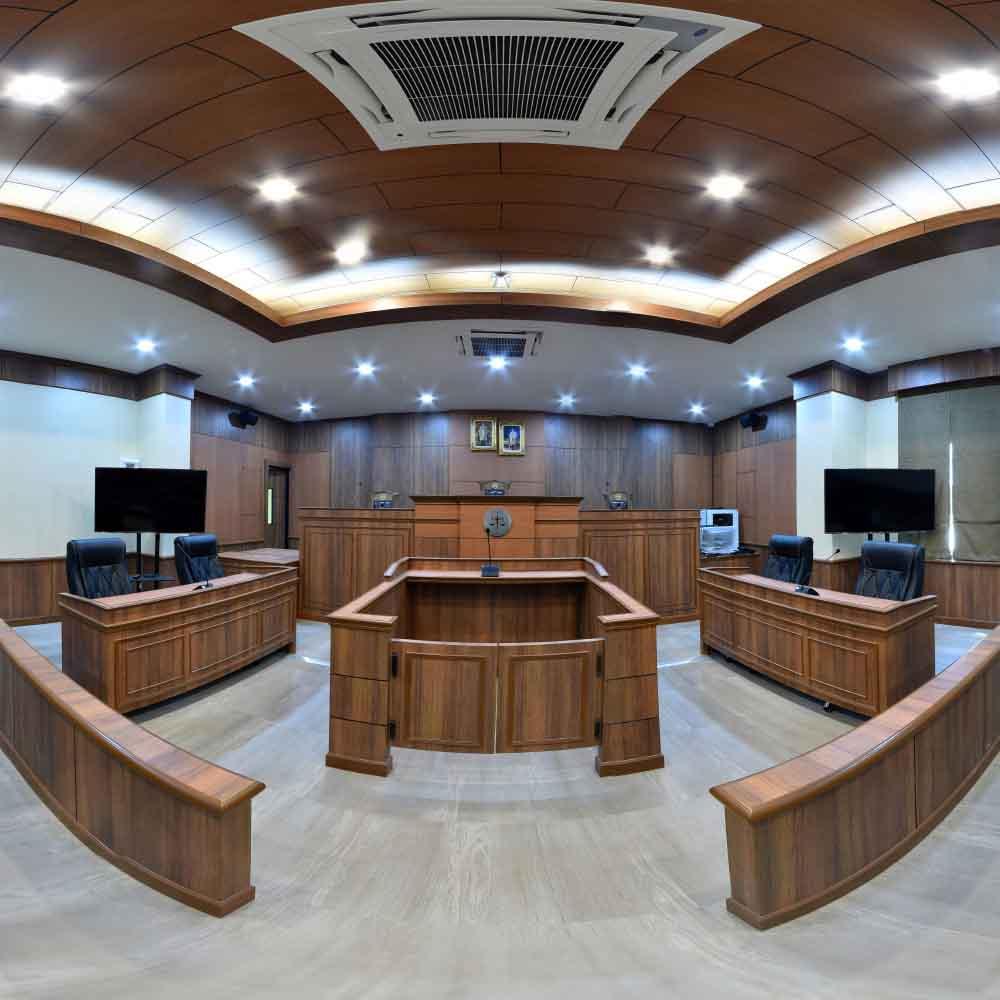 ห้องปฏิบัติการศาลจำลอง