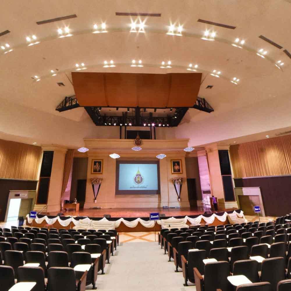 หอประชุมใหญ่ อาคารไทยบุรี