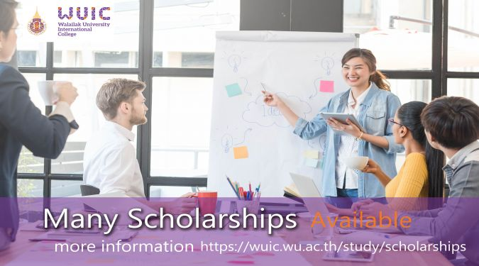 Walailak University International College (WUIC) offers Undergraduate Excellent Scholarships