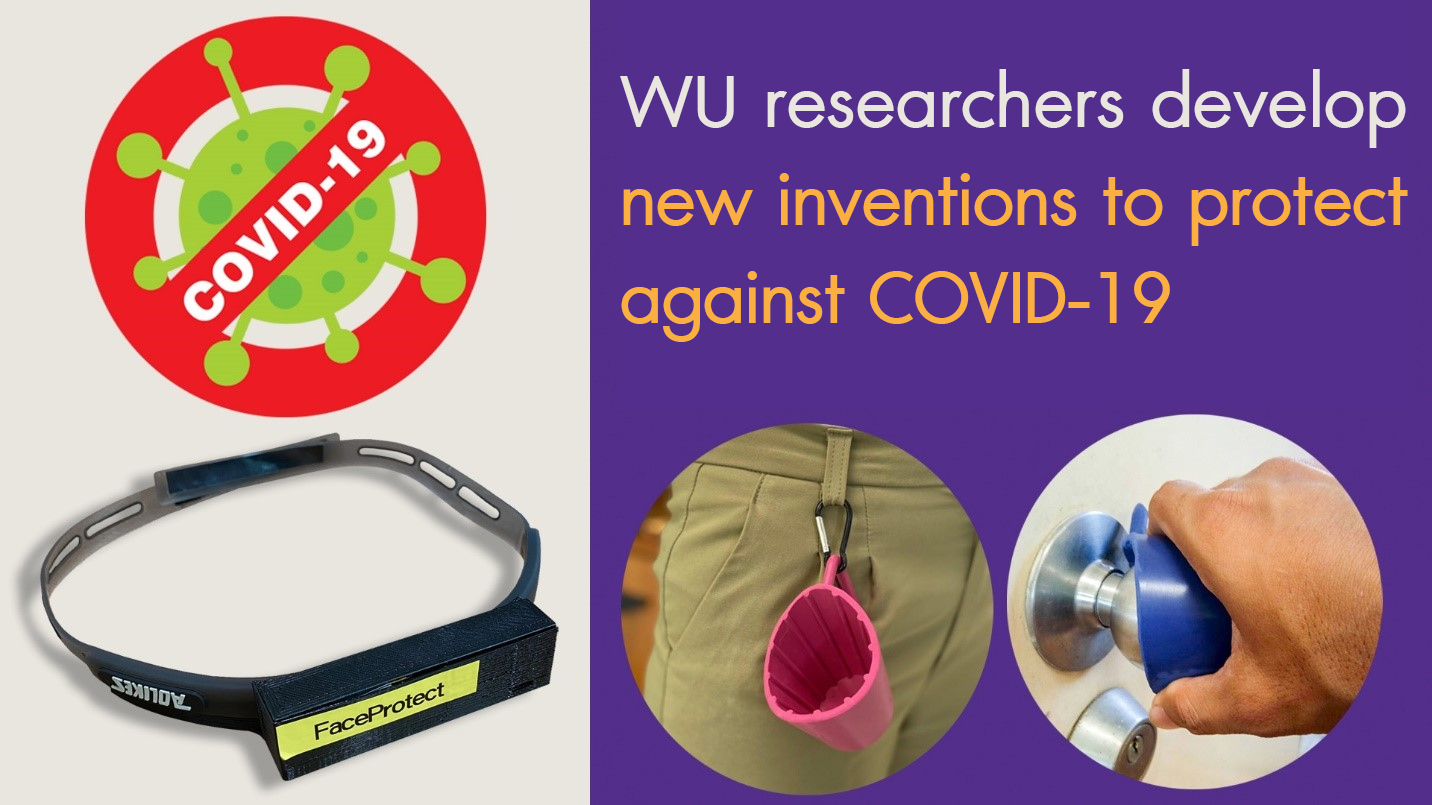 WU researchers develop new inventions to protect against COVID-19