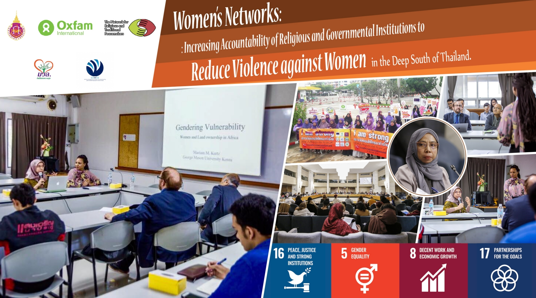 Women's Networks: Increasing Accountability of Religious and Governmental Institutions to Reduce Violence against Women in the Deep South of Thailand